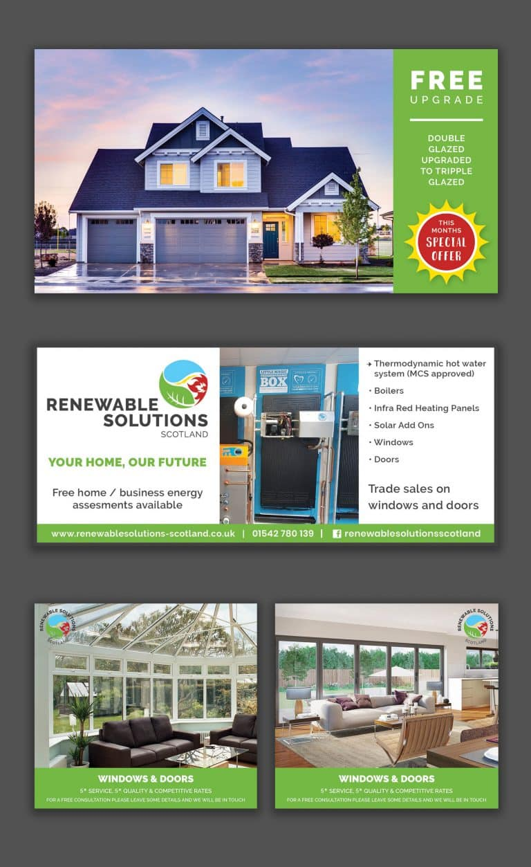 Renewable Solutions Scotland Adverts