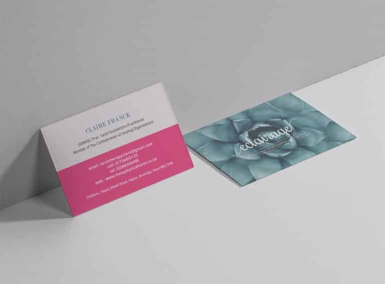 Eclairage business cards